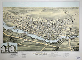 Bird's Eye View Map of Napanee