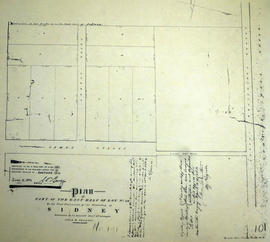 Plan of part of east Lot 36 in the Township of Sidney