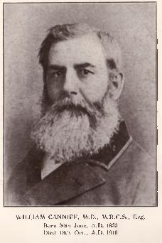 Photograph of William Canniff