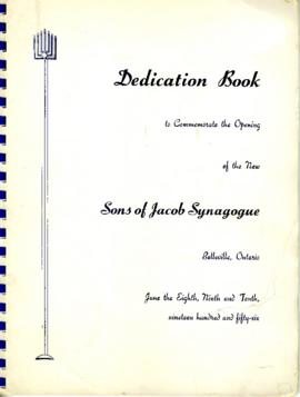 Sons of Jacob Synagogue and Belleville Centennial collections