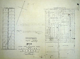 Plan of Park and Village Lots in Stirling