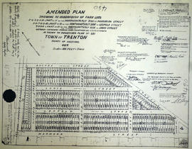 Re-subdivision of Park Lots in the Town of Trenton for J. Ferguson