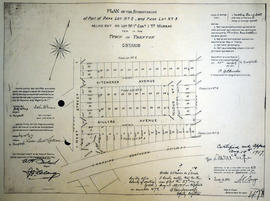 Subdivision of the part of Park Lot 2, 5 in the Town of Trenton