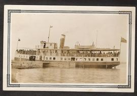 Digital copy of photograph of the steamer Brockville