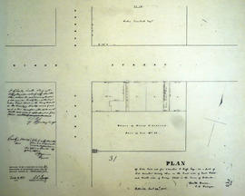 Plan of Lot 23 in the town of Belleville for C. S. Ross