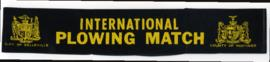 1961 International Plowing Match Ribbon