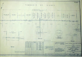 Sidney Township, Gas Line Map # RL32532