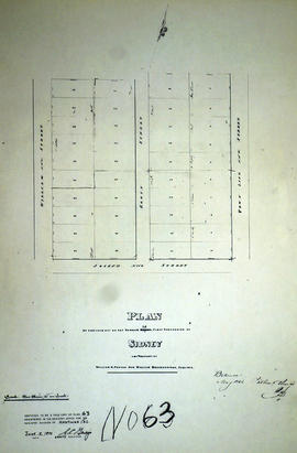 Plan of Lot 38 in the Township of Sidney