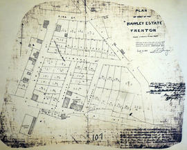 Plan of part of the Hawley Estate in the town of Trenton