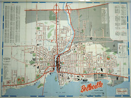 Pathfinder's Map of Belleville 1963