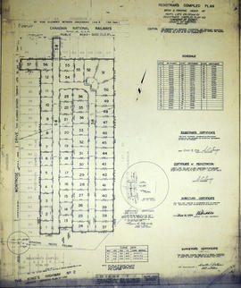 Registrar's Plan of Lot 29 , 100-101 in the Township of Sidney