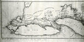 Map of the principal settlements of Upper Canada (Part 2)