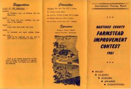 Farmstead Improvement Contest Brochure