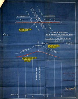 CNR Crossing at Cannifton Road Blueprint
