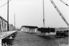 Construction of Norris Whitney Bridge