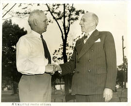 Photograph of John Bracken and George H. Stokes