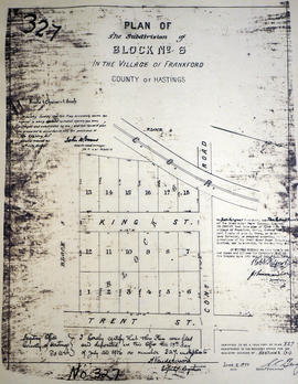 Plan of Block 6 in the village of Frankford
