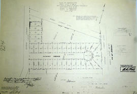 Subdivision of part Lots 11-12 in the town of Trenton