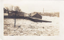Postcards of Belleville floods in 1936