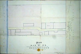Plan of Lot XL/40 in the town of Belleville