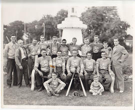 Photograph of Stephens-Adamson baseball team