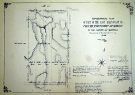 Topographical plan of Lot 26 in the Township of Madoc