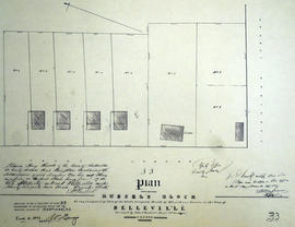 Plan of Russel's Block in the town of Belleville