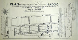 Subdivision of Block 51 in the village of Madoc