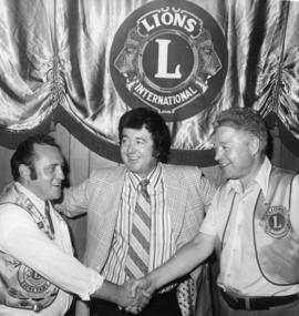 Men at Lions Club International in Belleville, Ontario.