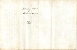Meyers,  John W. : copy of will, 1822