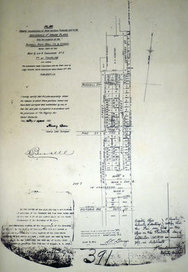 Re-subdivision of Lot 8 in the City of Belleville