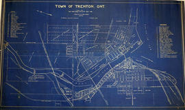 Map of the Town of Trenton 1926