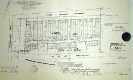 Subdivision of part Lots 8-9 in the Township of Thurlow