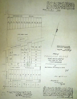 Plan of Terrace Block in the Township of Thurlow