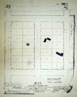 Plan of part of the Coleman Estate in the town of Belleville