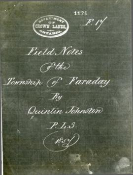 Field Notes of the Township of Faraday