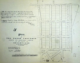 Plan of Glebe Property in the Town of Belleville
