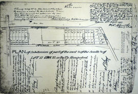 Plan of subdivision of Lot 11 in the Township of Hungerford
