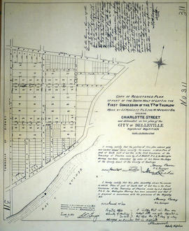 Plan of Lot 1 in the City of Belleville