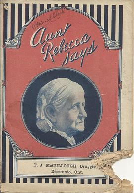 """Aunt Rebecca says"" publication"