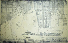 Haslett's 1868 Plan of Belleville