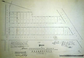 Plan of Henderson's Block in the town of Belleville