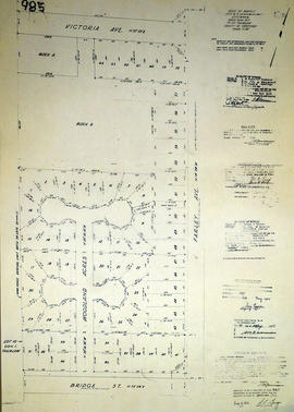 Subdivision of Lots 6-8, 16-18 in the Township of Thurlow