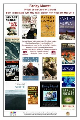 Books by Farley Mowat