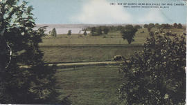 Postcard of the Bay of Quinte near Belleville