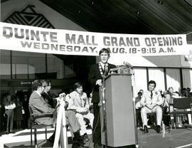 Quinte Mall Grand Opening ceremony