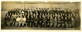 Photograph of Income Tax Division staff at Belleville, Ontario