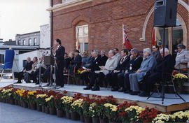 Re-opening of city hall, in Belleville, Onatrio.