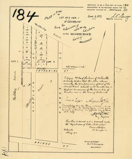 Plan of part of Lot 2 in the City of Belleville
