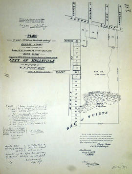 Plan of Lot 36 in the City of Belleville